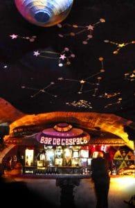 Funkisign Bar de l'espace