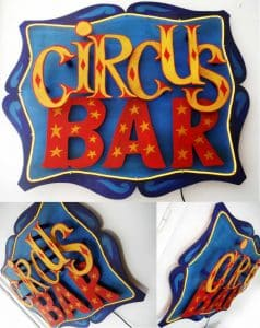 Funkisign Circus Bar