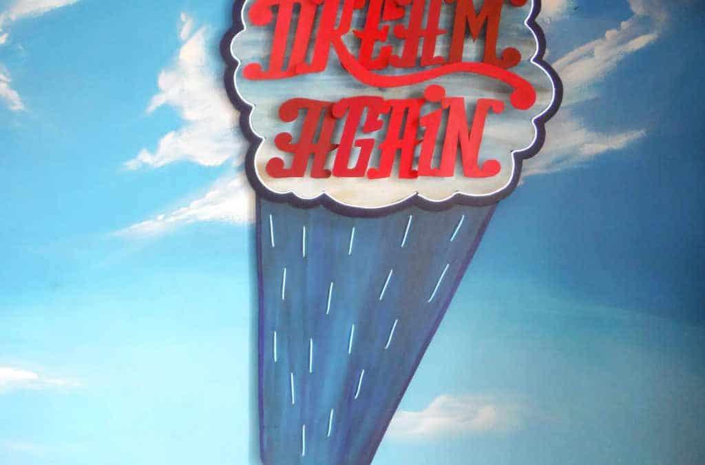 Enseigne Lumineuse Dream again