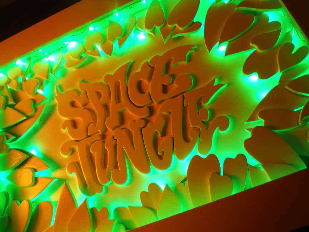 Space Jungle Funki Sign