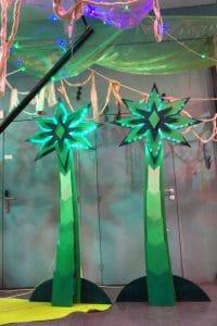 Funkisign Palmiers Electroniques