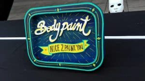 Funkisign Bodypaint Nice2paintyou
