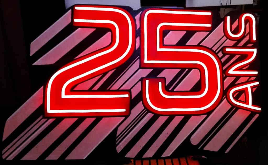 Enseigne Lumineuse 25 ans pour Seloger