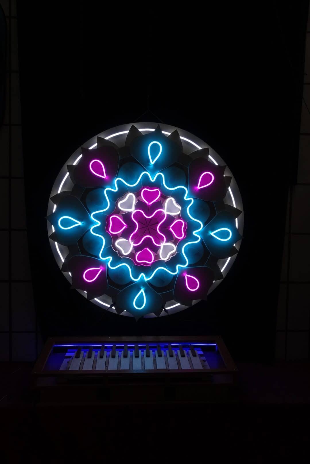 Enseigne Lumineuse Mandala