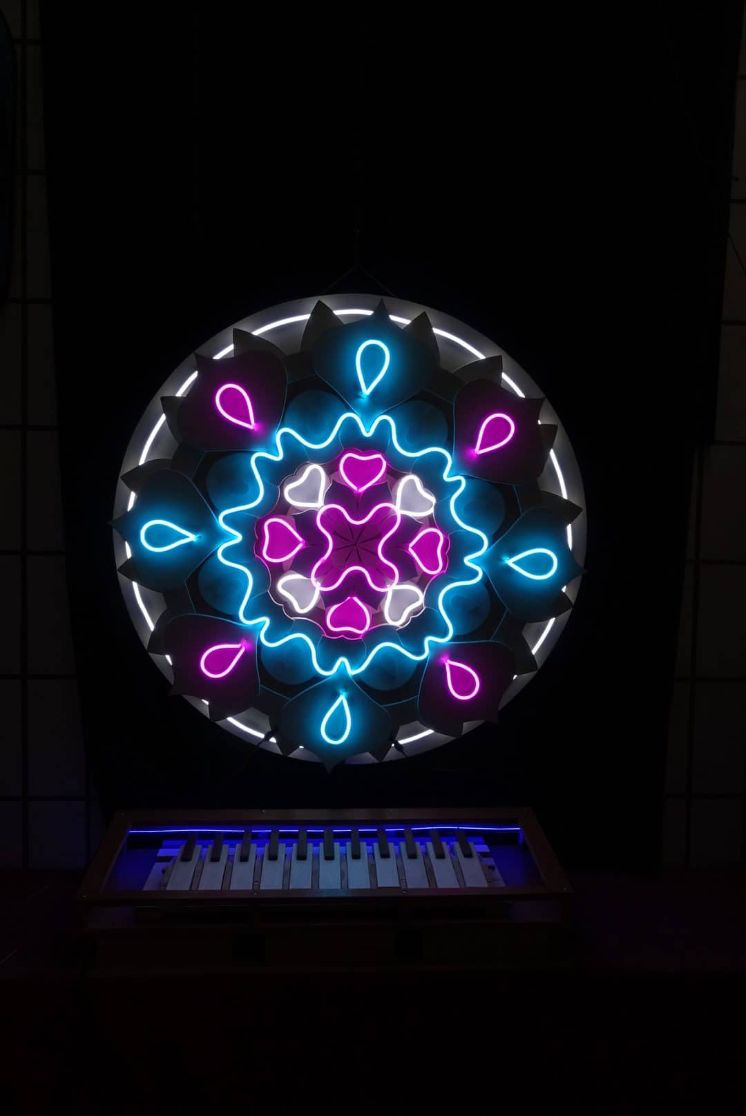 Neon sign Mandala