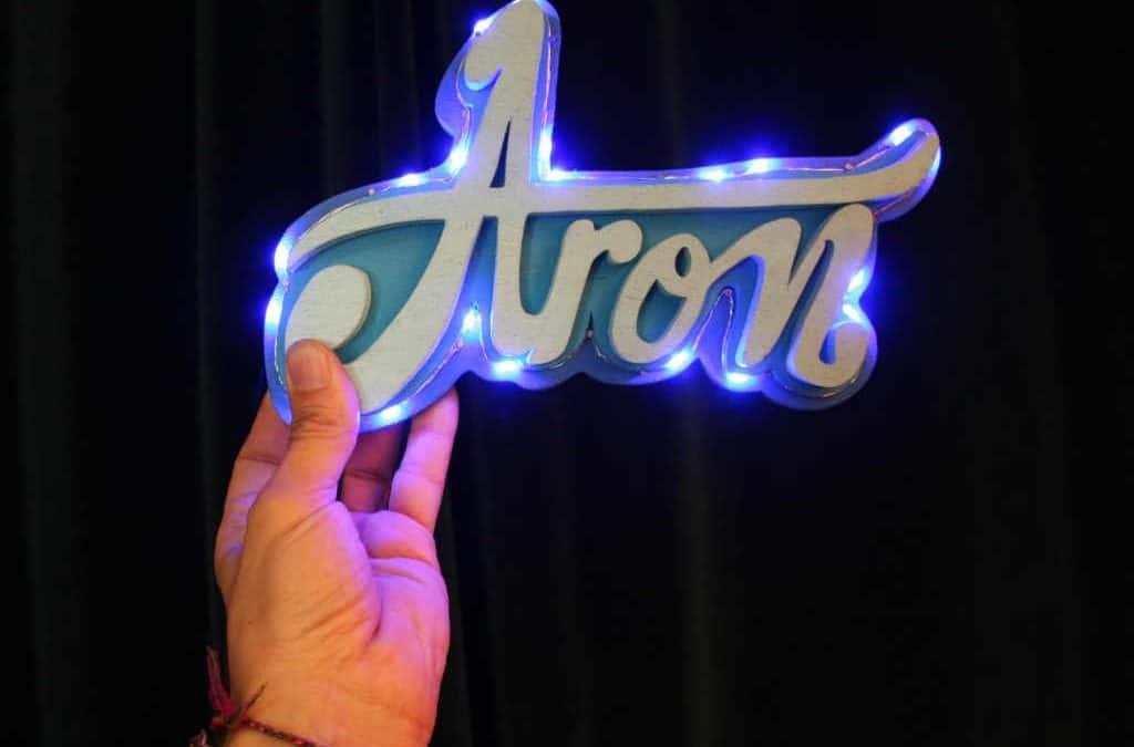 Enseigne Lumineuse Aron