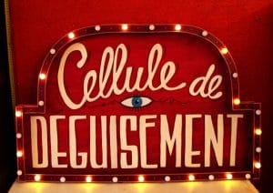 Funkisign 824 heures bar cellule de deguisement