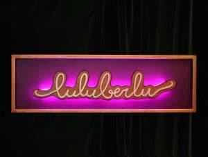 Enseigne Luluberlu