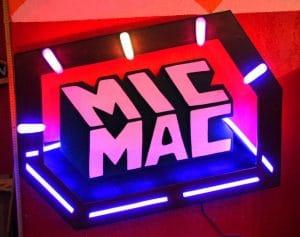realisation d'un sign pour le collectif de djs parisien Mic Mac