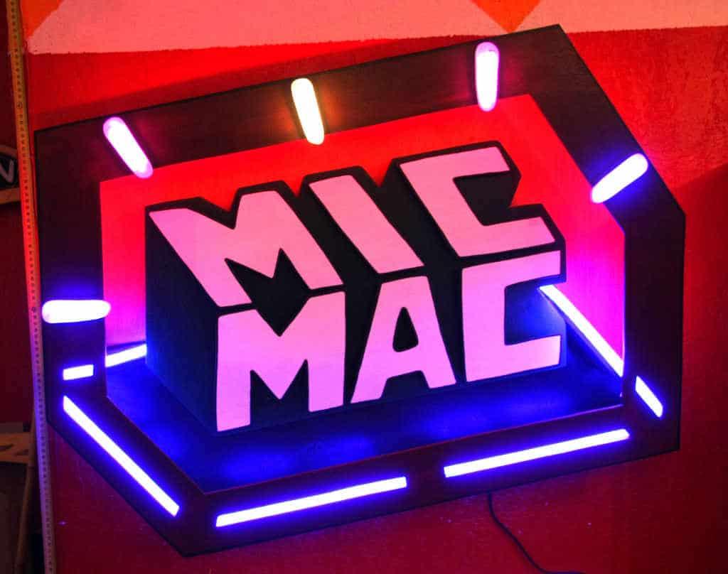 Enseigne Lumineuse MicMac