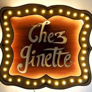 Funkisign Chez Ginette