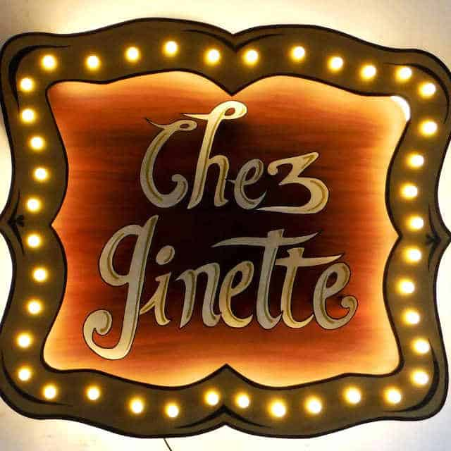 Enseigne Lumineuse Chez Ginette