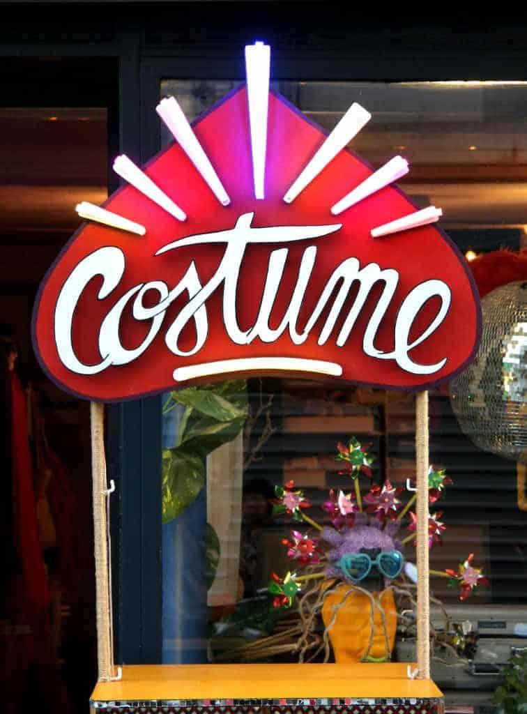 Funkisign Enseigne bois lumineuse Costume déguisement