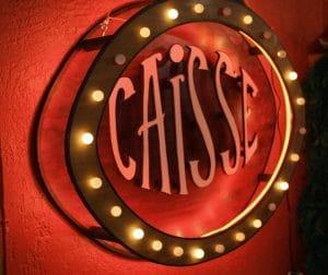 Funkisign Enseigne vintage Caisse façon Circus freak show
