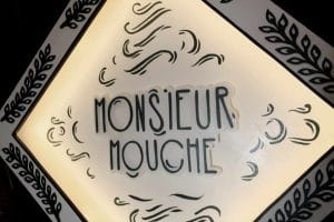 Funkisign Monsieur Mouche