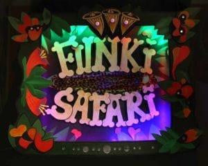 Funki Safari Sign personnalisé