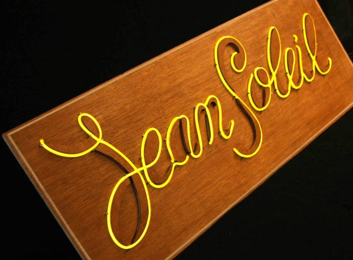 Enseigne Lumineuse Jean-Soleil