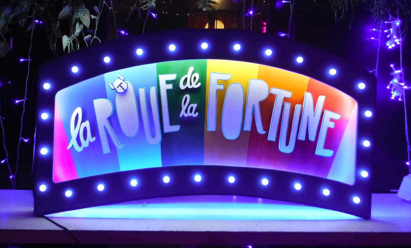 Enseigne Lumineuse Roue de la Fortune