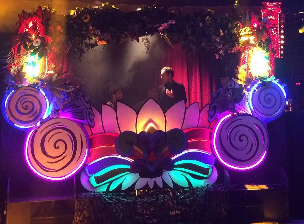 mini mega Stage psychedelic