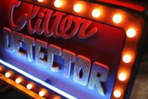 Funkisign Glitter Detector