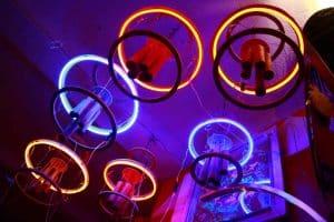 Funkisign lampe néon carillon aérien électronique
