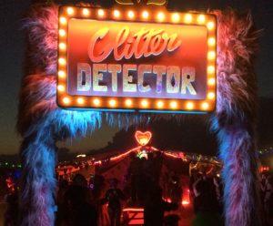 Enseigne Glitter Detector