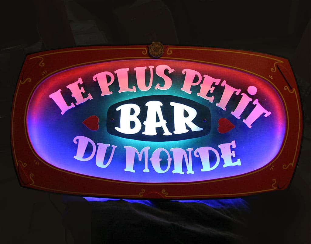Le plus petit bar du monde