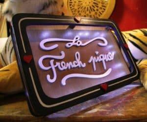 La French Pique Funki Sign
