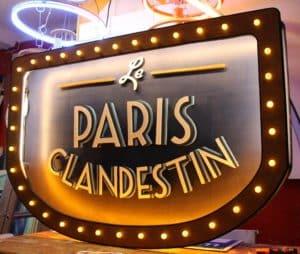 Le Paris Clandestin Funki Sign