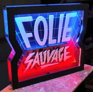 Folie Sauvage Funki Sign