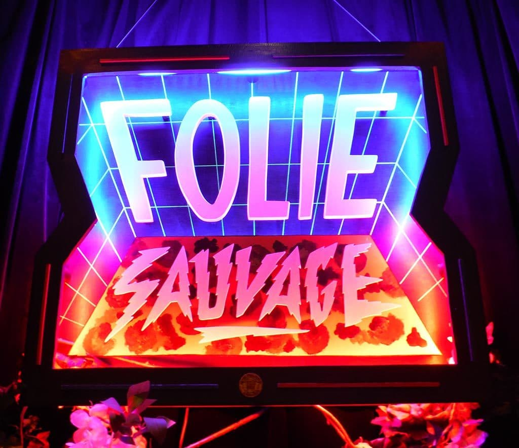 Folie Sauvage Funki Sign à la Folie Paris
