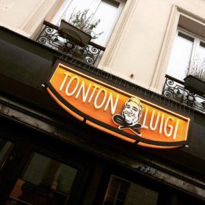 Enseigne Tonton Luigi Funki Sign