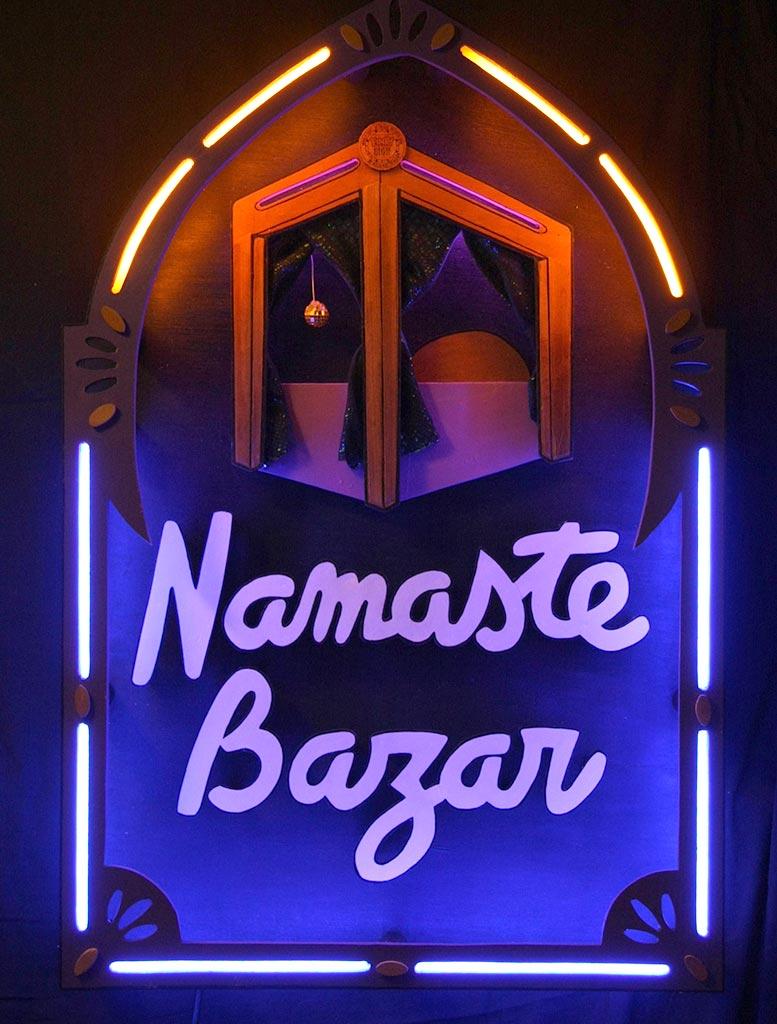 Néon Sur Mesure Namaste Bazar