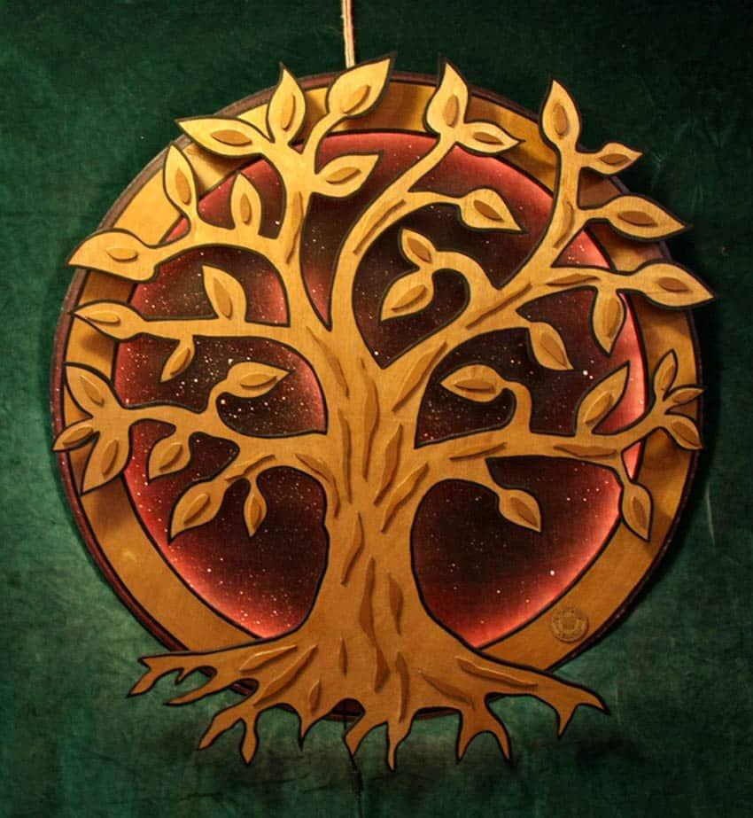 Enseigne Lumineuse Frère des arbres I