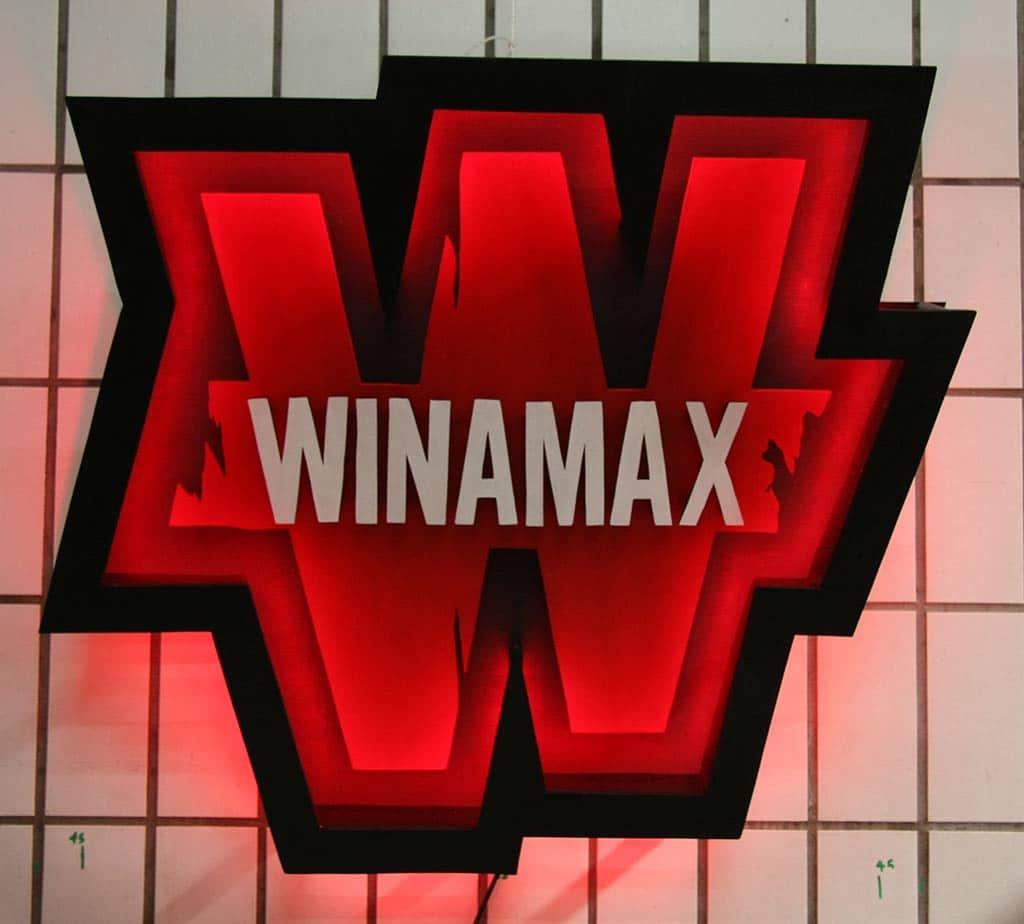 Winamax Logo Funki Sign