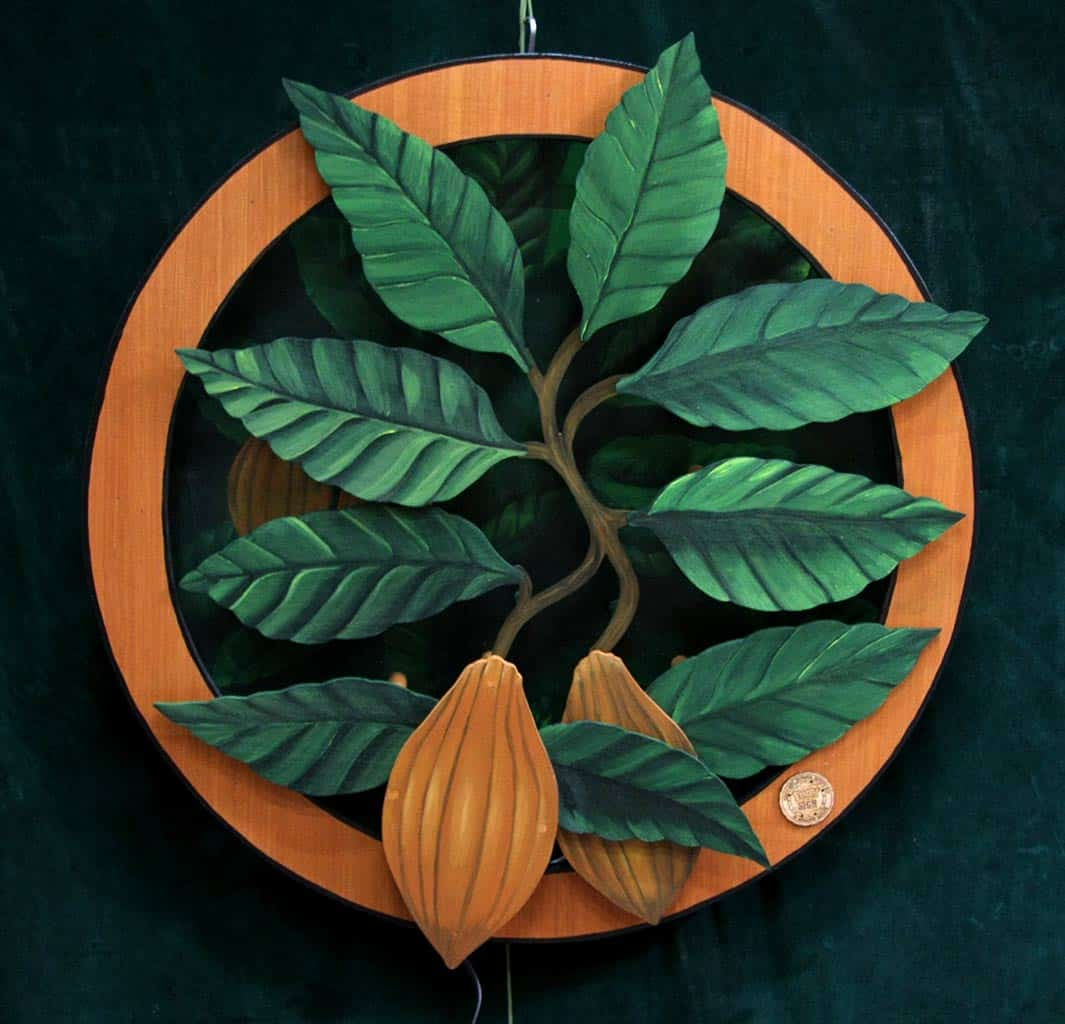 Cocoa - cacao - enseigne neon bois Funki sign