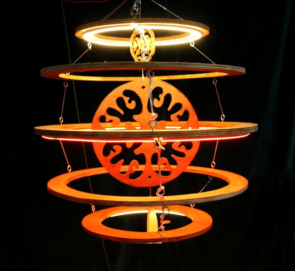 Lampion asia electronique Funki Sign