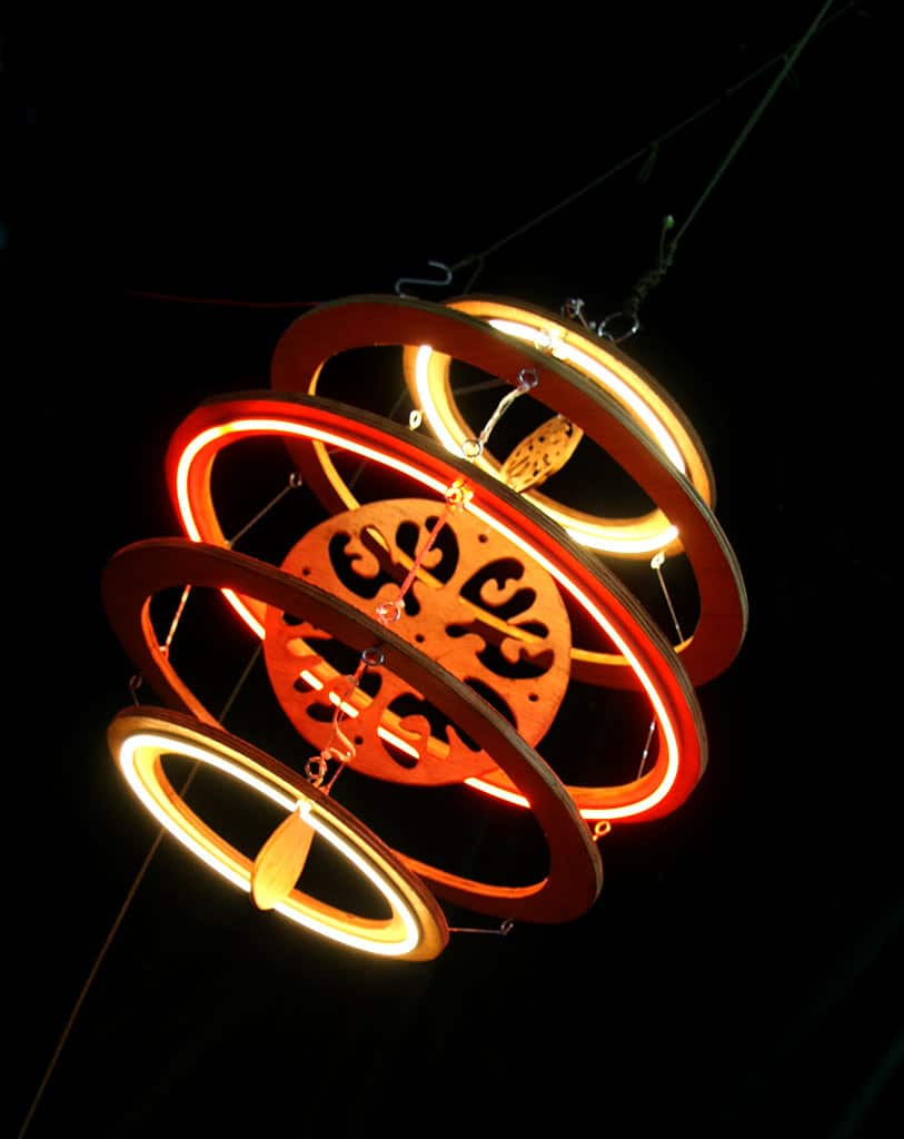Lampion asia electronique Funki Sign