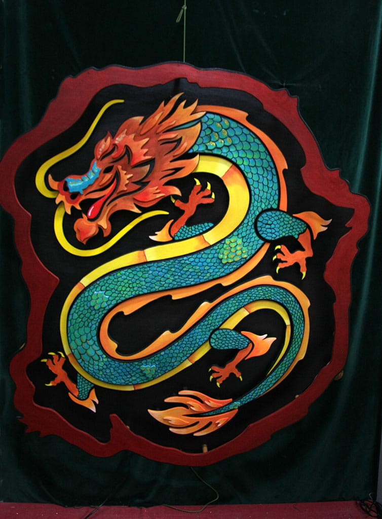 Dragon chinois Funki Sign