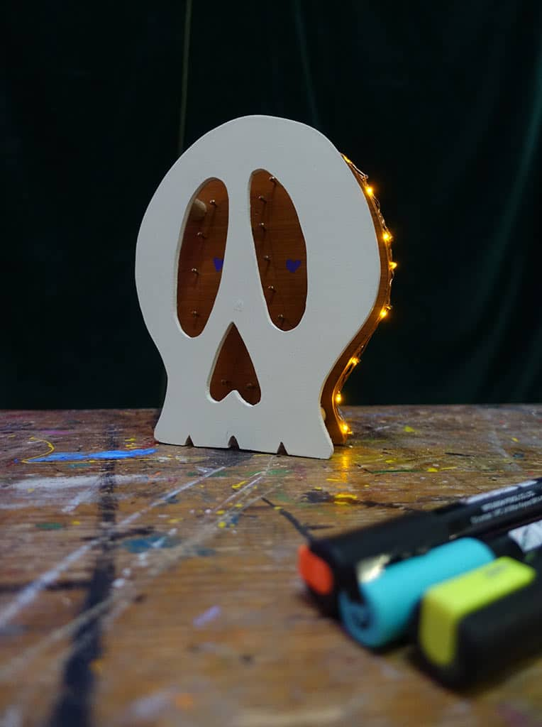 scénographie sur mesure : Mini Funky Skull 4