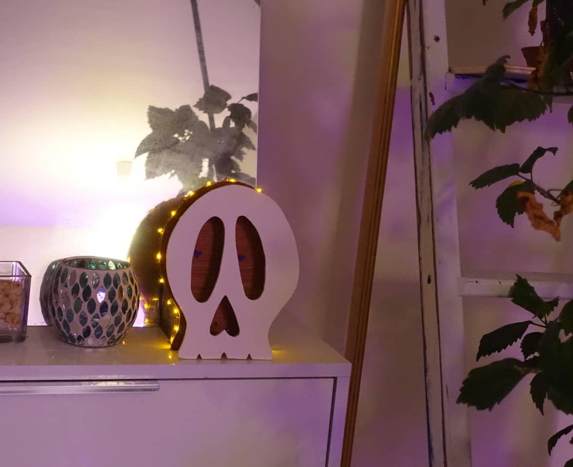 scénographie sur mesure : Mini Funky Skull 3