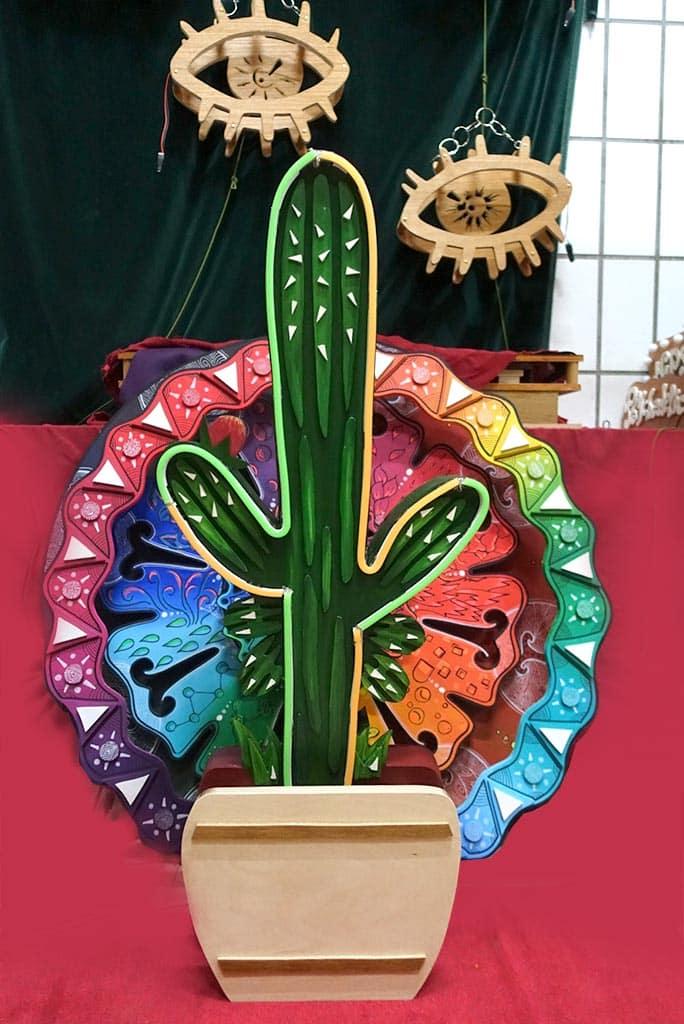 néon sur mesure Cactus 2