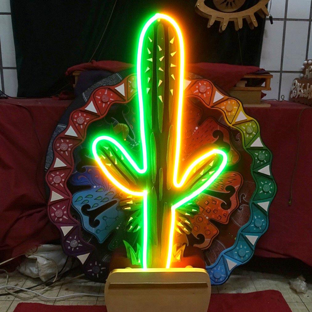néon sur mesure Cactus