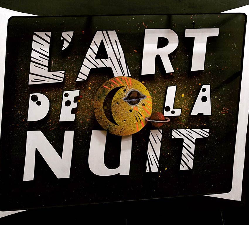 L'art de la Nuit Funki Sign