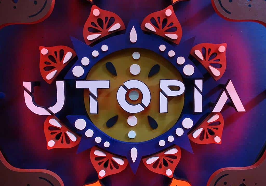Utopia Funki Sign