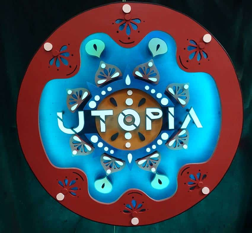 Utopia dj party festival Funki Sign