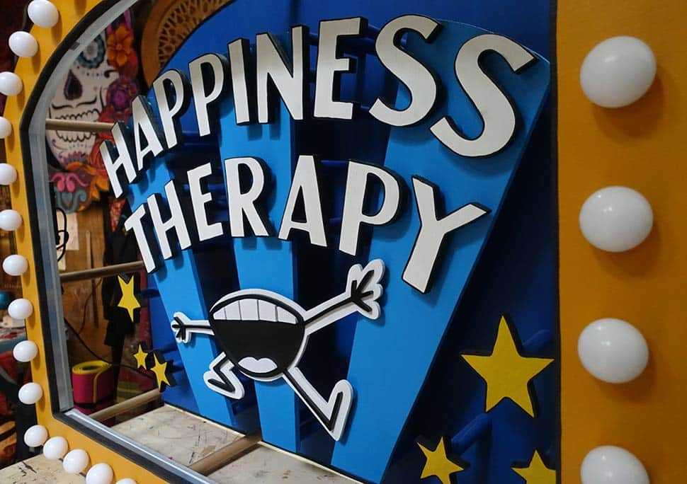 Happiness Thérapy Funki Sign