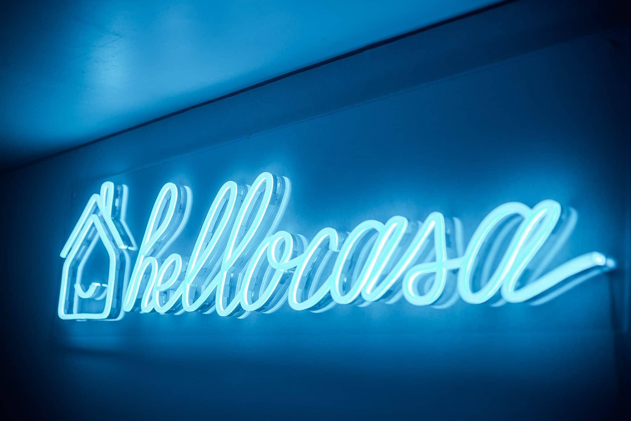 Hellocasa : Neon sign sur mesure
