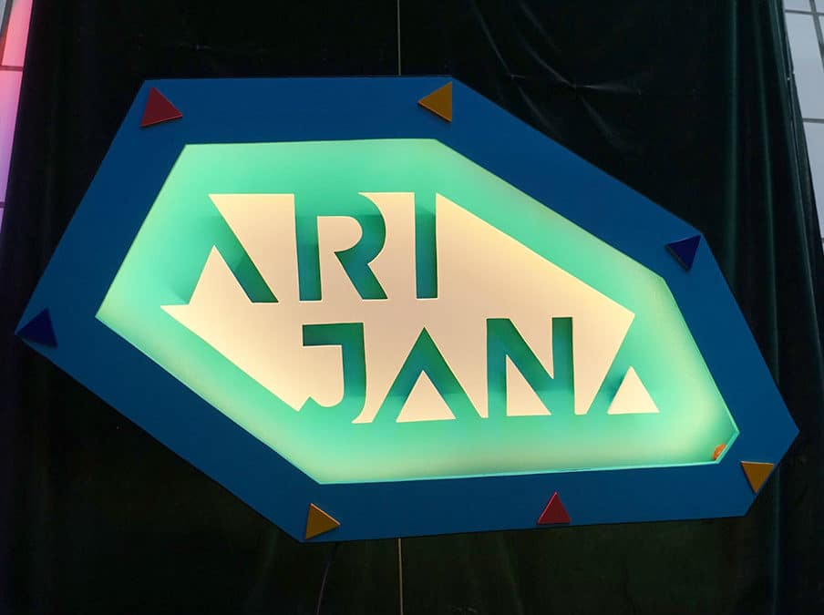 Enseigne lumineuse Arijana