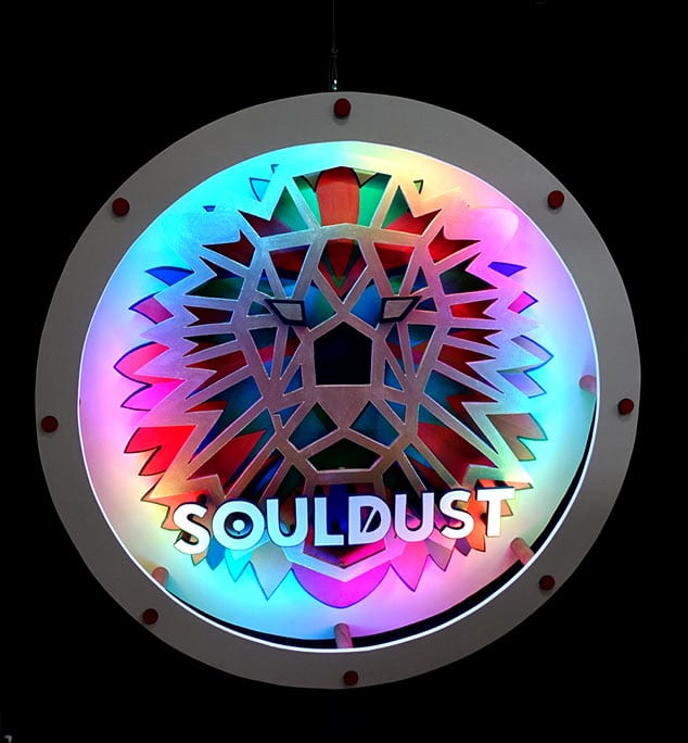 Enseigne lumineuse Lion Souldust